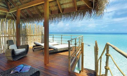 Constance Moofushi Maldives Senior Water Villa View